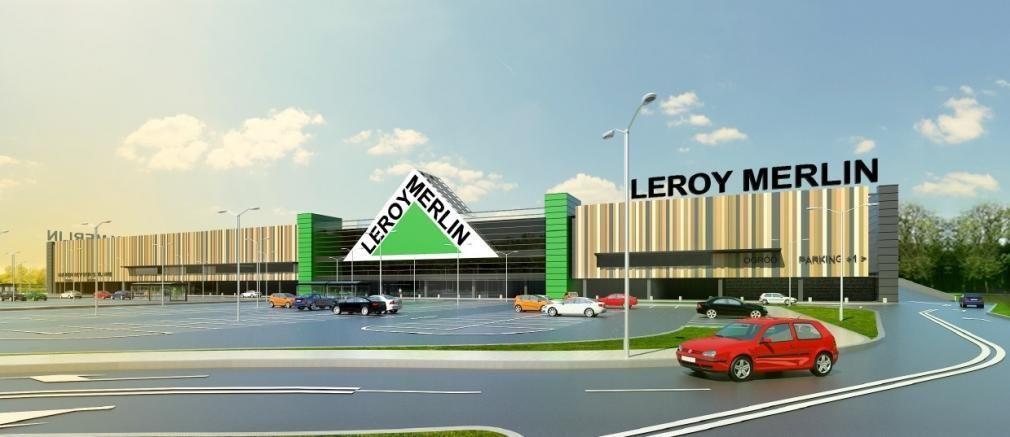 Leroy Merlin Ze Sklepem I Dzialka Na Sprzedaz W Olsztynie Eurobuildcee
