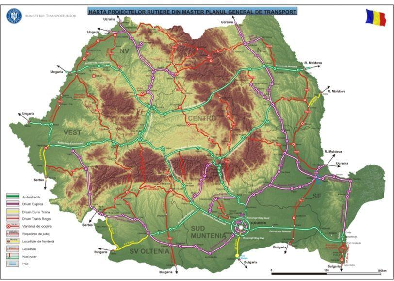 Eurobuildcee Romania Plans To Upgrade Transport Links